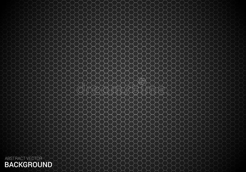 Calibre abstrait de conception de fond de bannière d'affiche de polygone/hexagone de gradient de vecteur images libres de droits