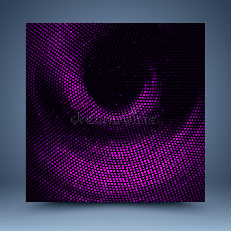 Calibre abstrait rose illustration de vecteur