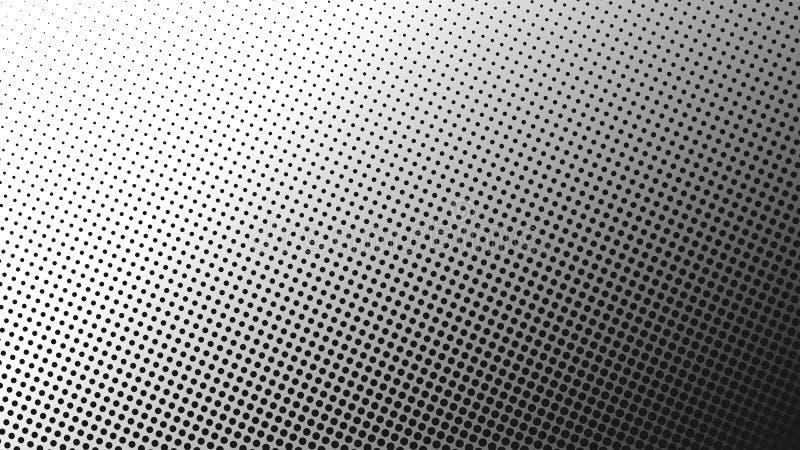 Calibre avec des cercles Bulles brouillées sur le fond abstrait illustration stock