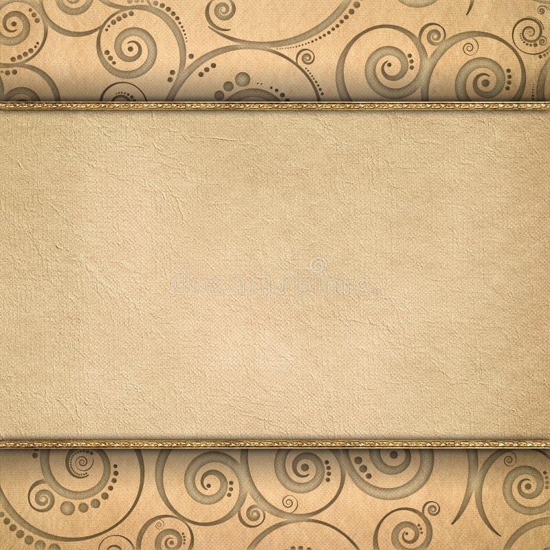Calibre bicouche de fond illustration de vecteur