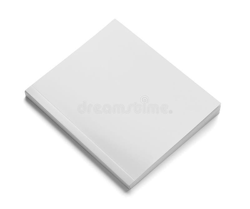 Calibre blanc de papier blanc de manuel de carnet de livre photos libres de droits