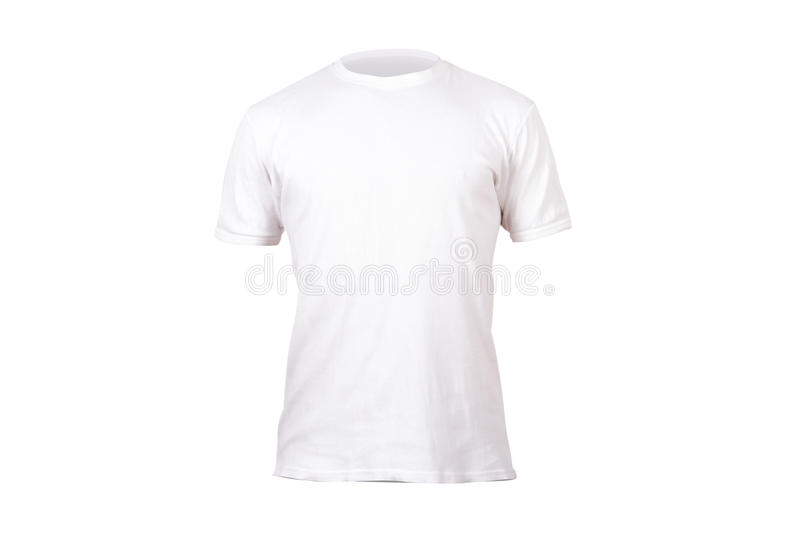 Calibre blanc de T-shirt photo libre de droits