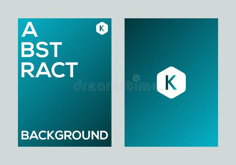 Calibre coloré abstrait de conception de fond de bannière d'affiche de gradient de vecteur image libre de droits
