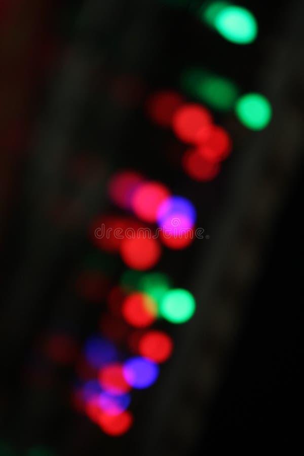 Calibre coloré de fond de lumière clignotante image libre de droits