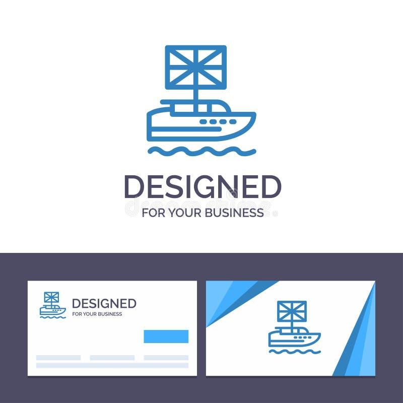 Calibre créatif Brexit, les Anglais, européens, royaume, illustration britannique de carte de visite professionnelle et de logo d illustration de vecteur