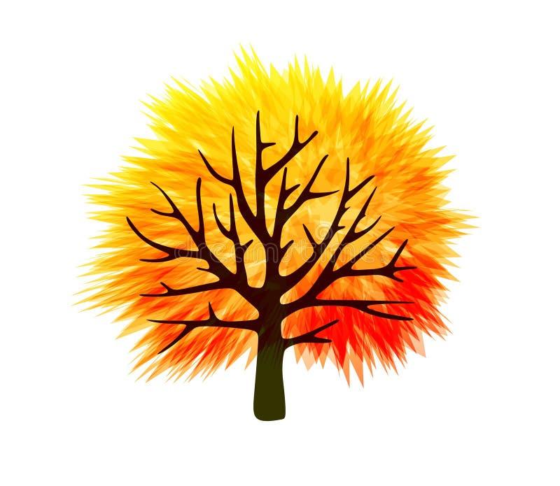 Calibre d'arbre de chute illustration libre de droits
