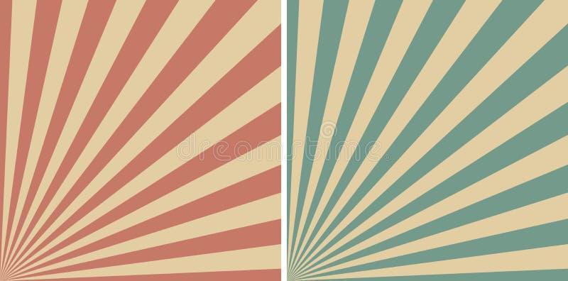 Calibre d'art de bruit de bande dessinée de fond de vintage pour exprimer l'effet sonore, bulle comique de la parole Calibre de v illustration stock