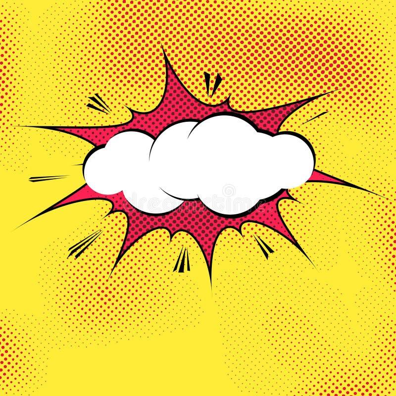 Calibre D'explosion D'éclaboussure De Bruit-art De Bulle