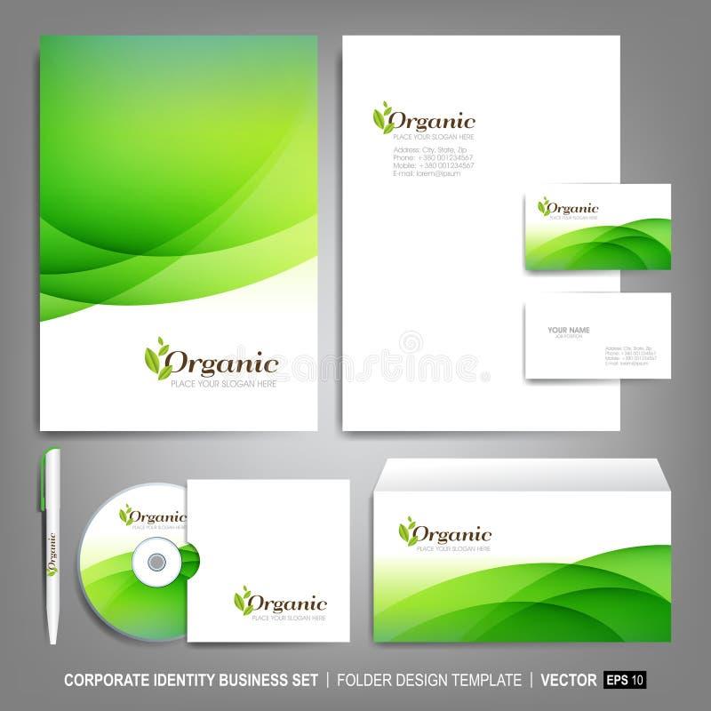 Calibre d'identité d'entreprise pour des illustrations d'affaires images stock