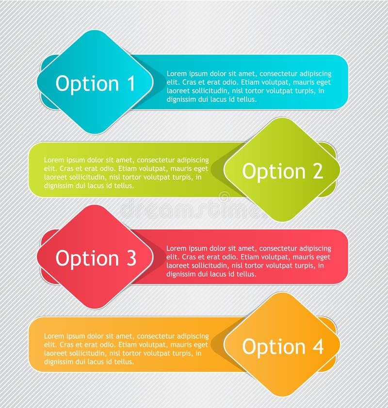 Calibre d'Infographics pour des affaires, éducation, web design, bannières illustration de vecteur