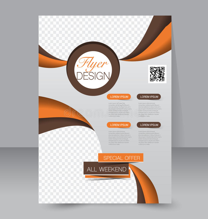 Download Calibre D'insecte Brochure D'affaires Affiche A4 Editable Illustration de Vecteur - Illustration du revue, medias: 56475595