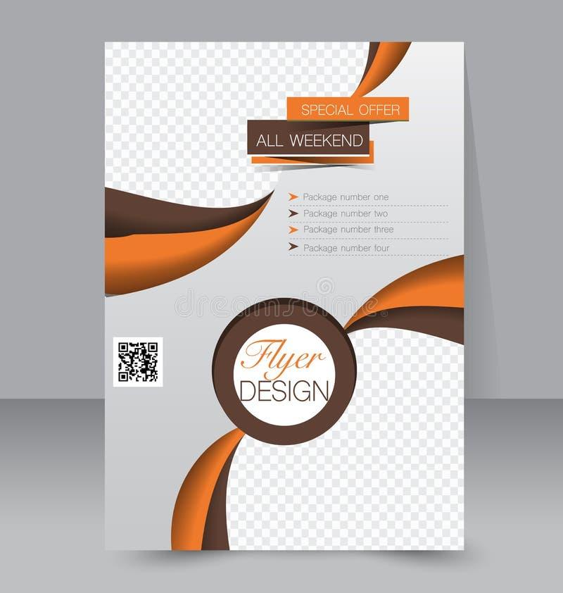 Download Calibre D'insecte Brochure D'affaires Affiche A4 Editable Illustration de Vecteur - Illustration du editable, medias: 56475753