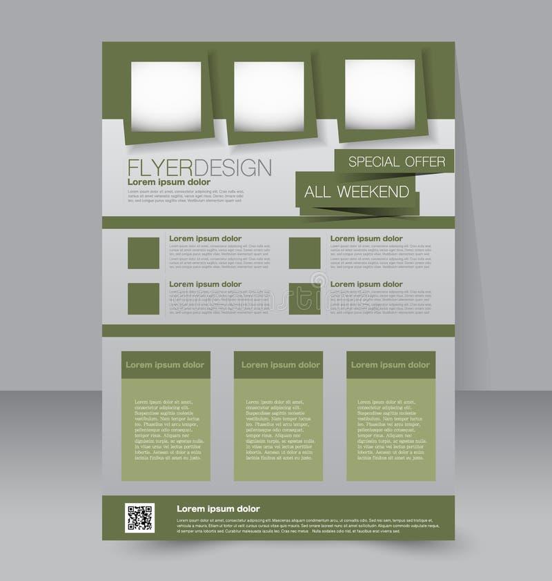 Download Calibre D'insecte Brochure D'affaires Affiche A4 Editable Illustration de Vecteur - Illustration du vente, promotion: 56476283