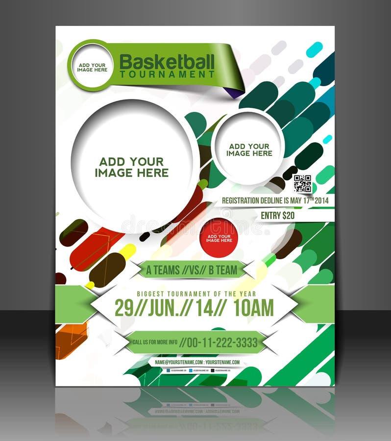 Calibre d'insecte de basket-ball illustration stock
