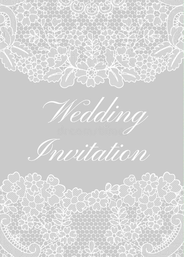 Calibre d'invitation de mariage illustration libre de droits