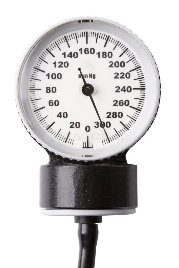 Calibre da pressão sanguínea fotografia de stock royalty free