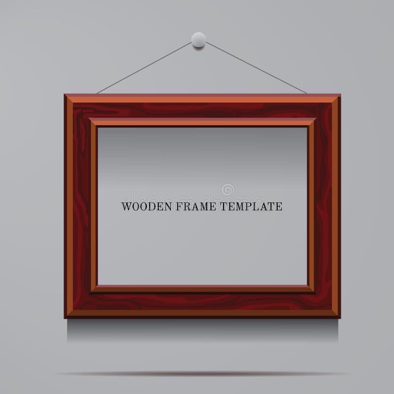 Calibre de cadre en bois illustration libre de droits