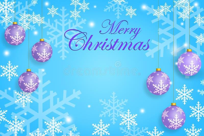 Calibre de carte de voeux de Noël dans la couleur en pastel photos stock