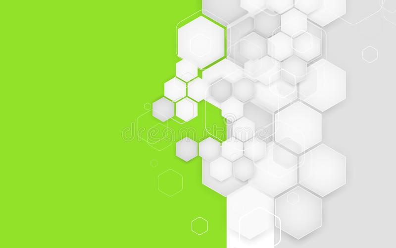 Calibre de conception de couverture de brochure d'affaires Fond de vecteur photographie stock
