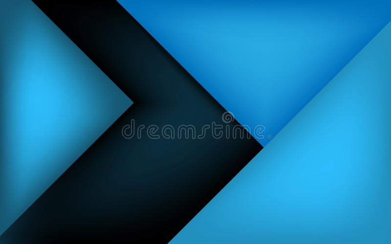 Calibre de conception de couverture de brochure d'affaires Vecteur images stock