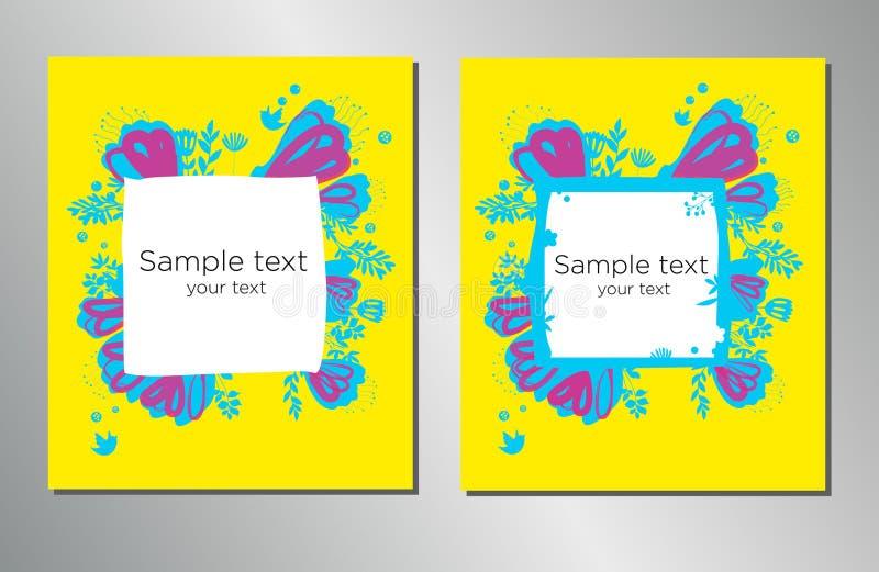 Calibre de conception de couverture de livre Peut être adapté à la brochure, rapport annuel, magazine, affiche, présentation d'en illustration stock