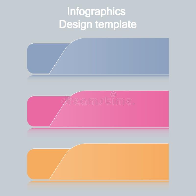 Calibre de conception d'Infographic avec l'endroit pour vos données illustration de vecteur