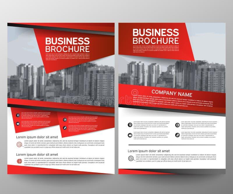 Calibre de conception d'insecte de brochure d'affaires Rapport annuel Fond géométrique d'abrégé sur présentation de couverture de illustration de vecteur