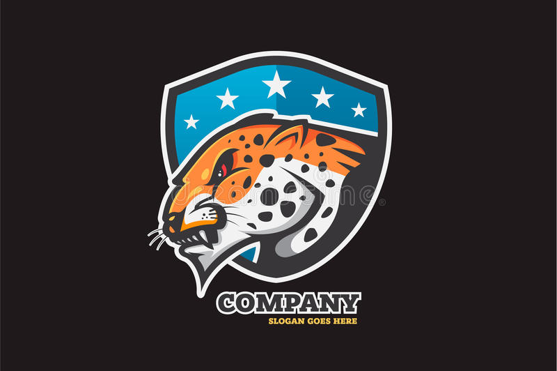 Calibre de conception de logo, illustration de vecteur