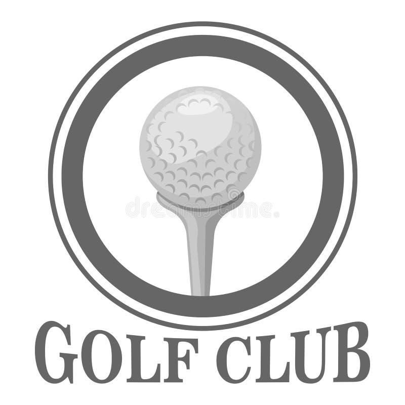 Calibre de conception de logo de club de golf illustration stock