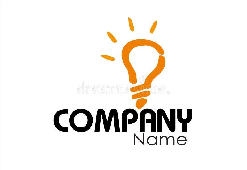 Calibre de conception de logo de société photographie stock