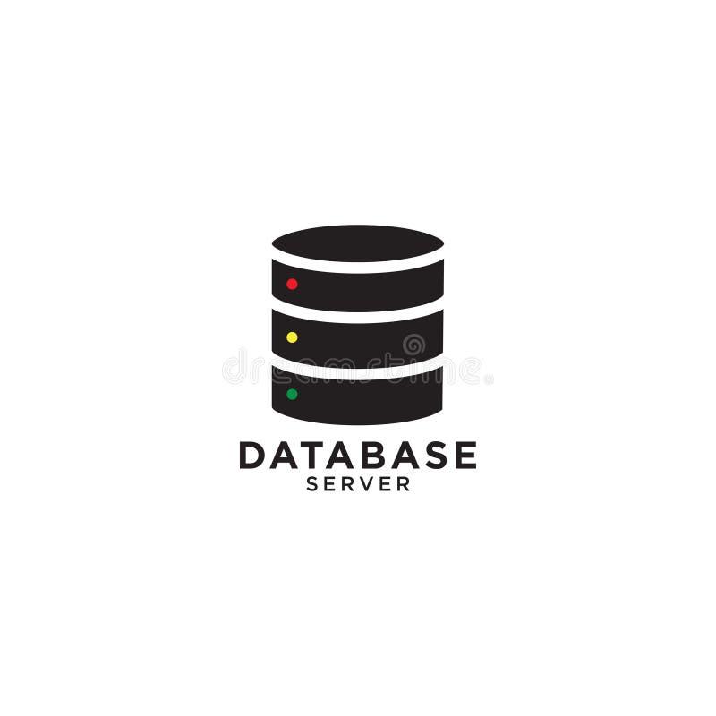 Calibre de conception graphique de base de données illustration libre de droits