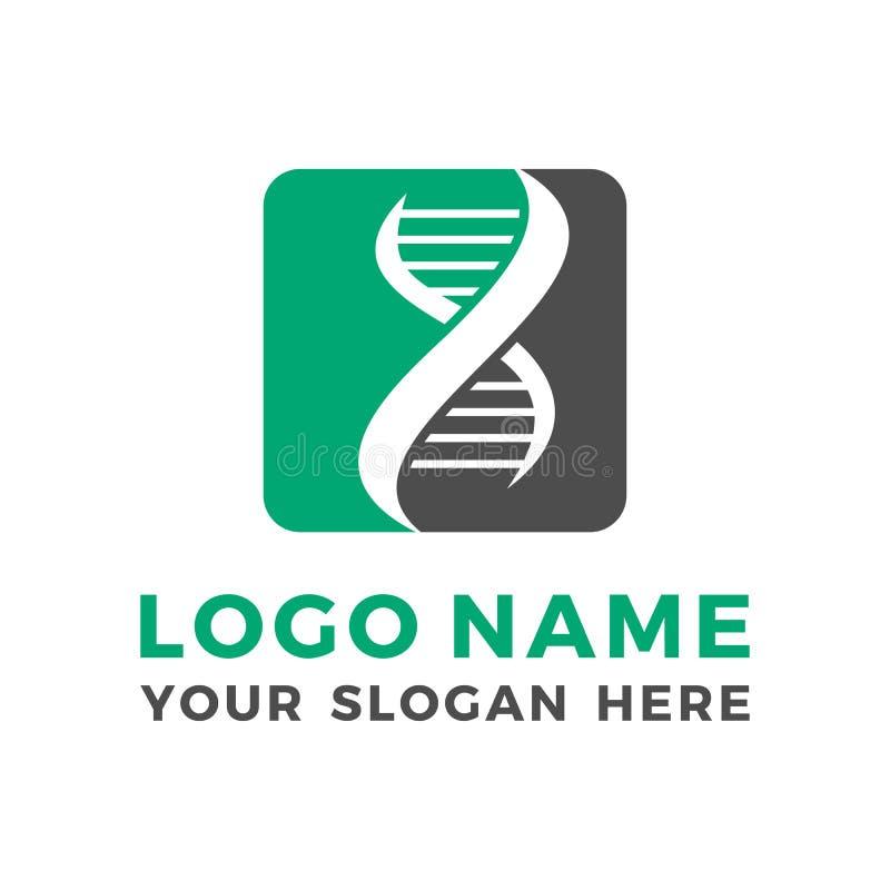 Calibre de conception de logo de vecteur de la Science illustration de vecteur