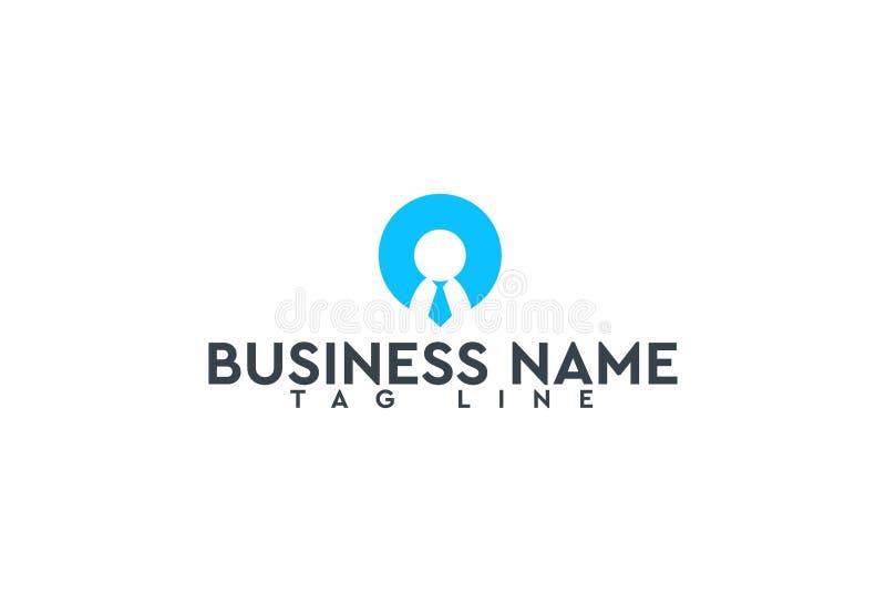 Calibre de conception de logo de vecteur illustration de vecteur