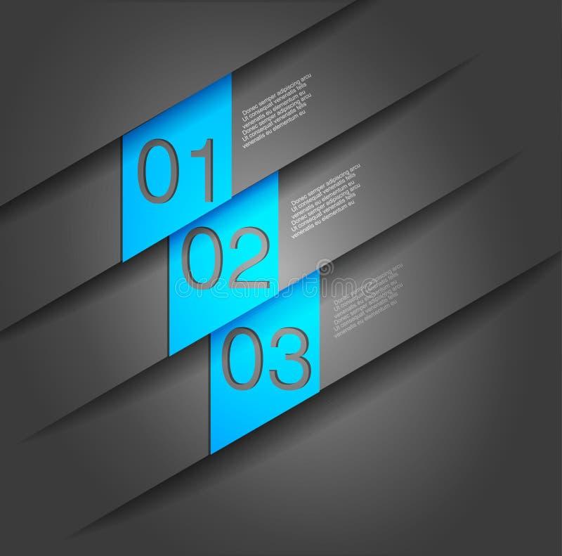 Calibre de conception moderne illustration de vecteur