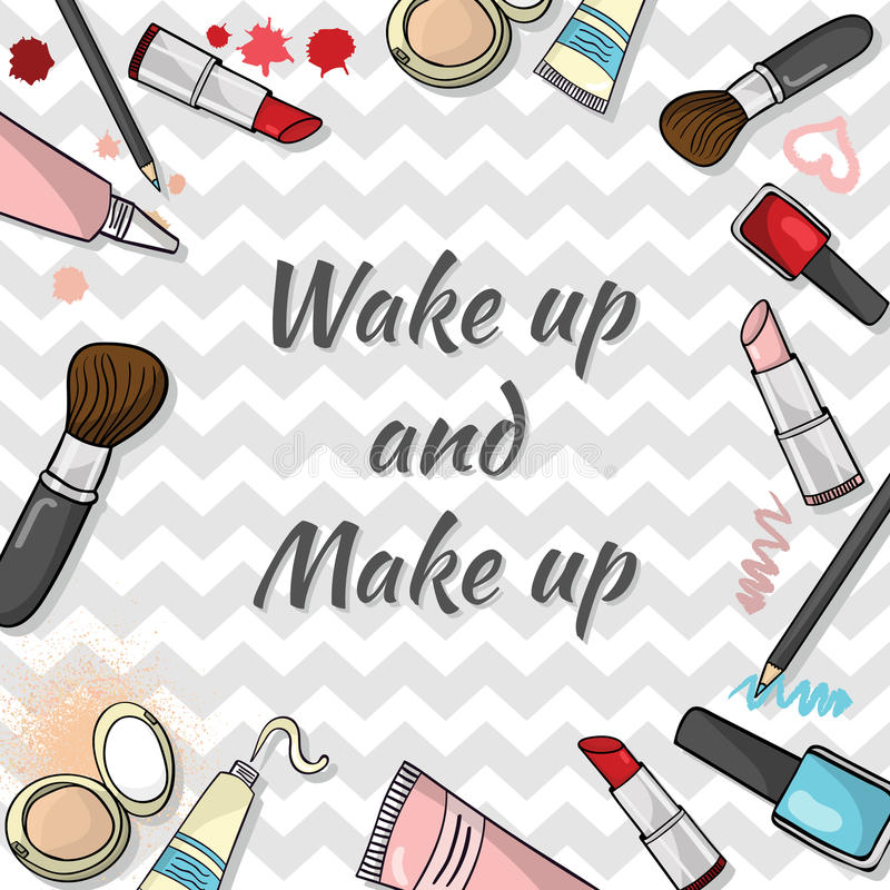 Calibre de cosmétiques images libres de droits