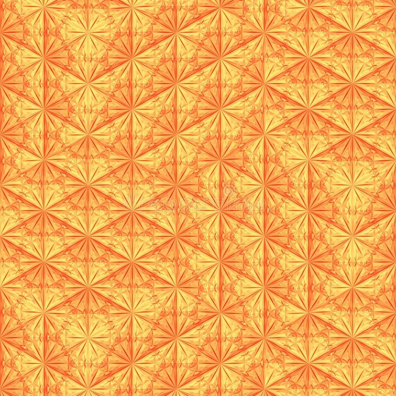 Calibre de couleur orange moderne pour la conception architecturale rendu 3d illustration libre de droits