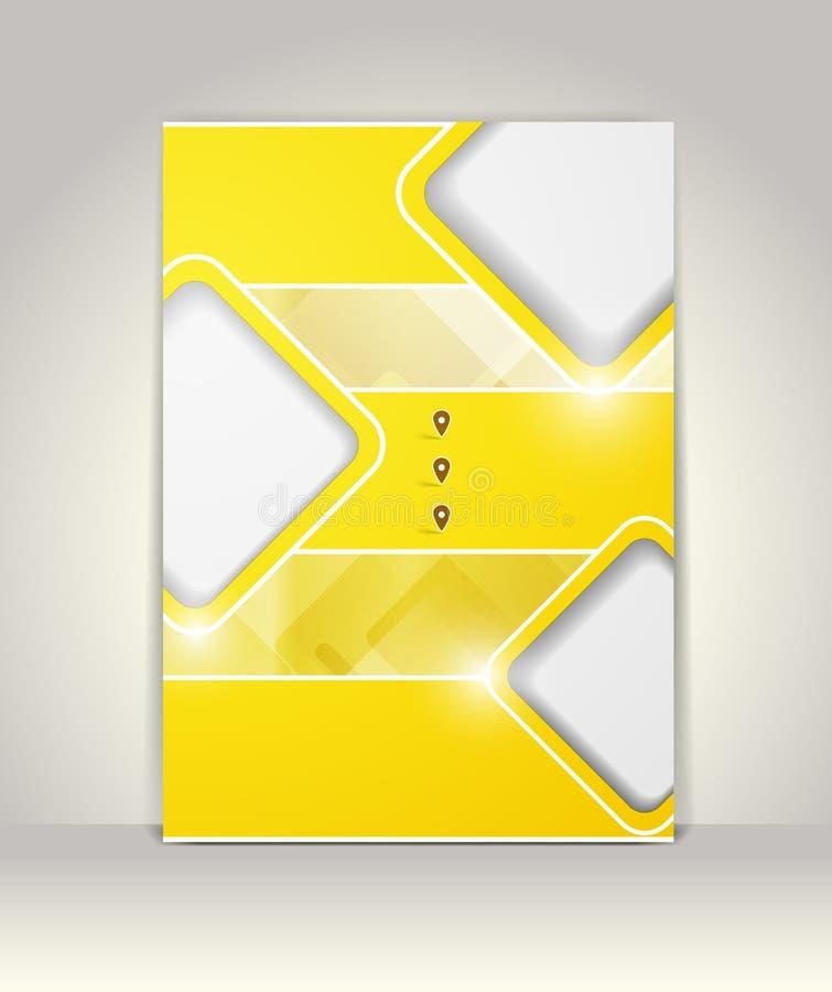 Calibre de couverture d'insecte, de brochure ou de magazine illustration de vecteur
