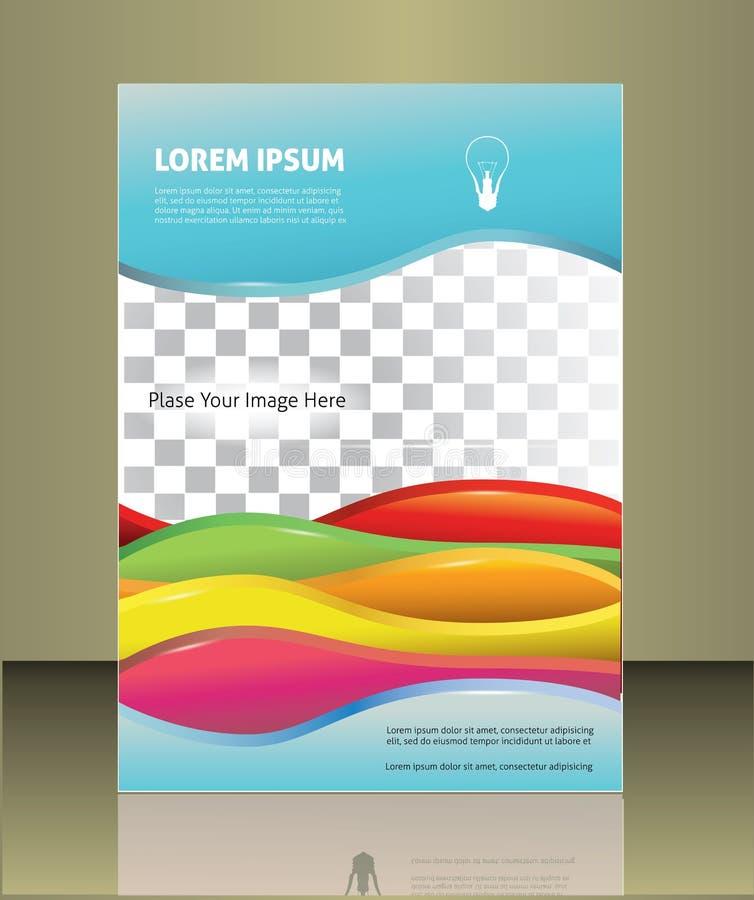 Calibre de couverture de brochure de vecteur illustration libre de droits