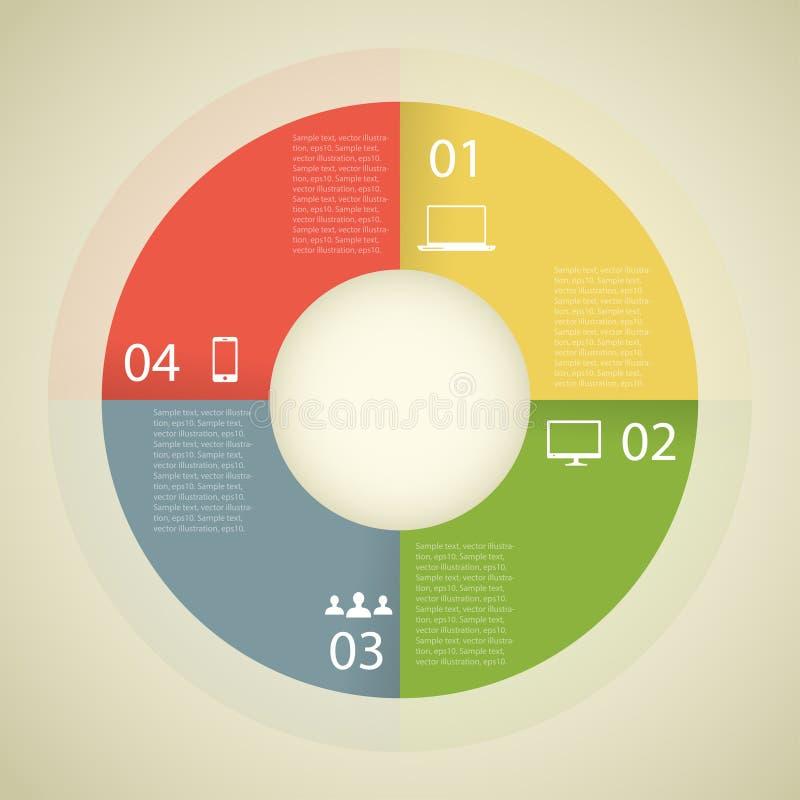 Calibre de design d'entreprise. Web d'affaires de concept illustration de vecteur
