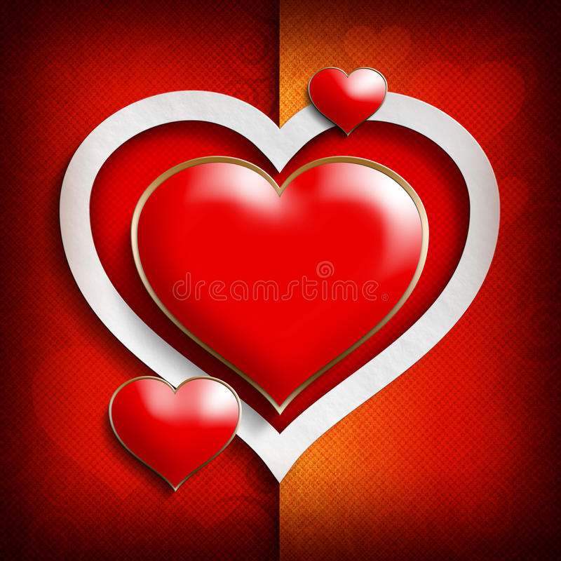 Calibre de fond de Valentine Day illustration stock