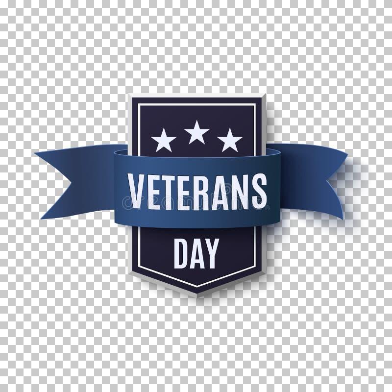 Calibre de fond de jour de vétérans illustration libre de droits