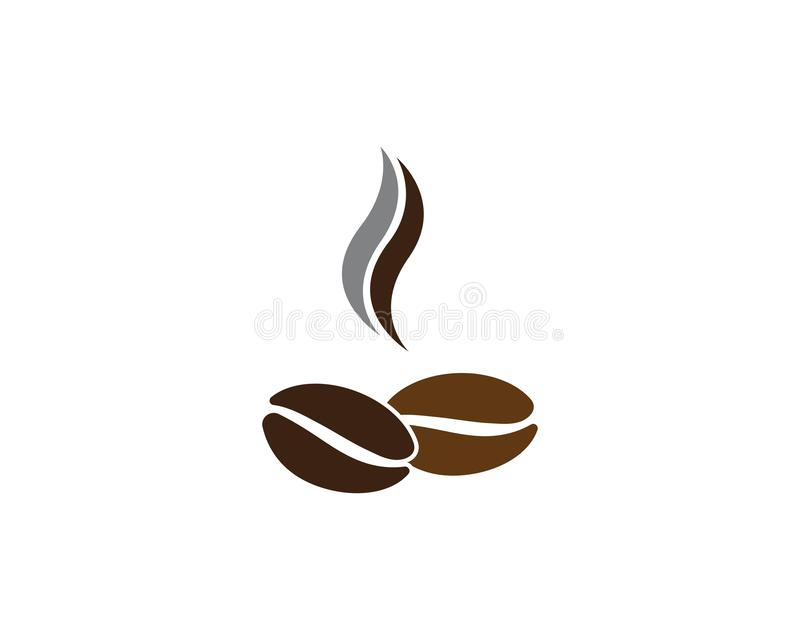 calibre de grains de café de vecteur illustration stock