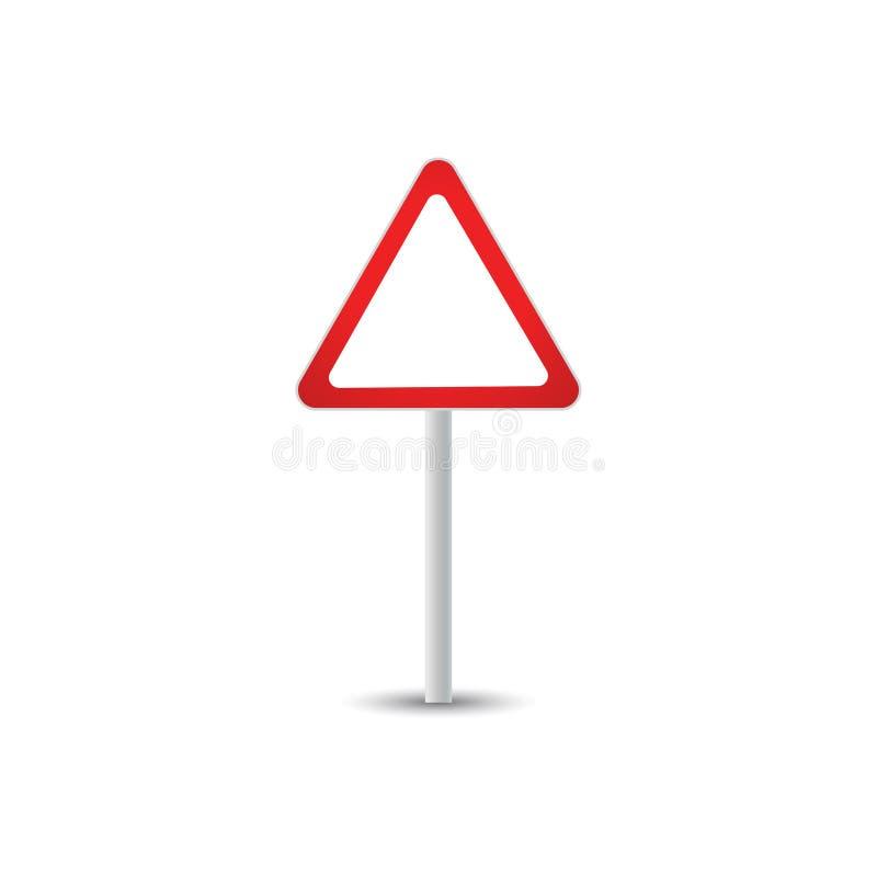 Calibre de graphique de poteau de signalisation illustration libre de droits