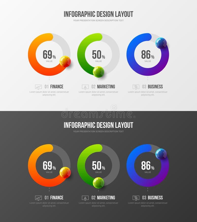 Calibre de la meilleure qualité d'illustration de vecteur de présentation d'analytics de vente de qualité Disposition de concepti illustration de vecteur