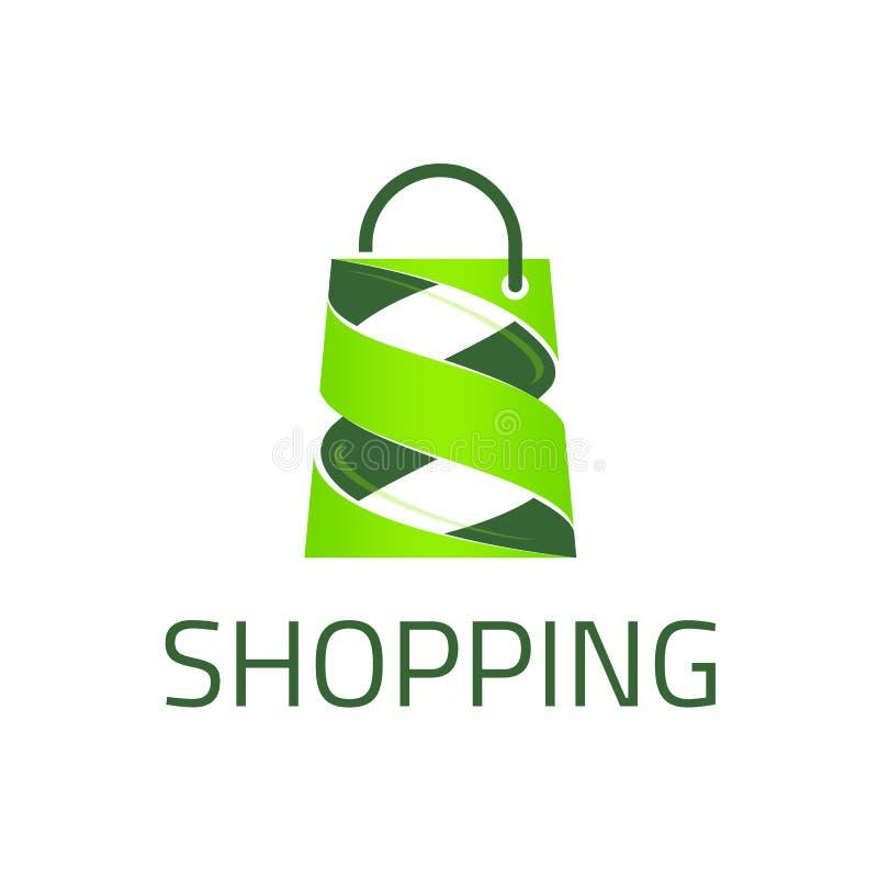 Calibre de logo d'achats illustration libre de droits