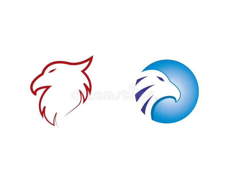 Calibre de logo d'Eagle illustration libre de droits