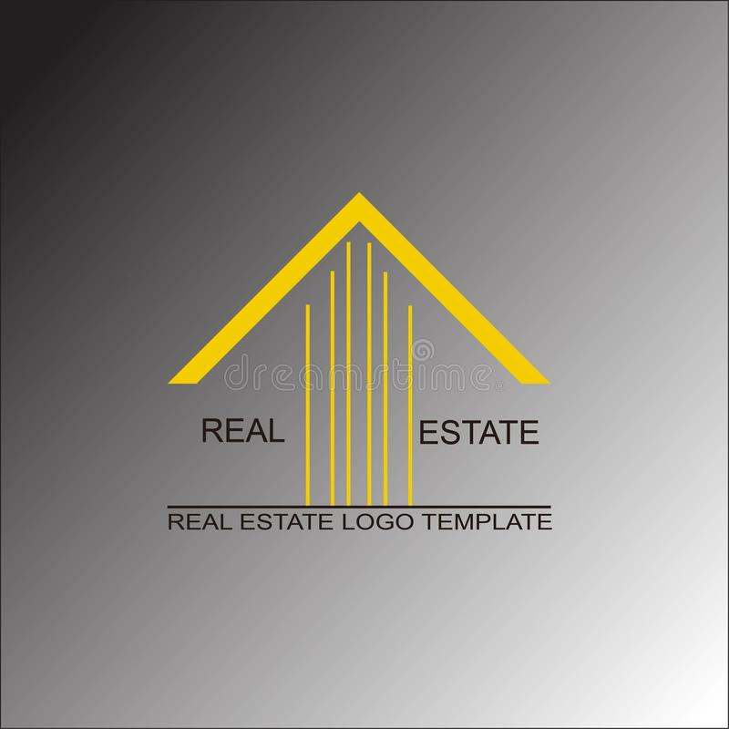 Calibre de logo d'immobiliers photos stock