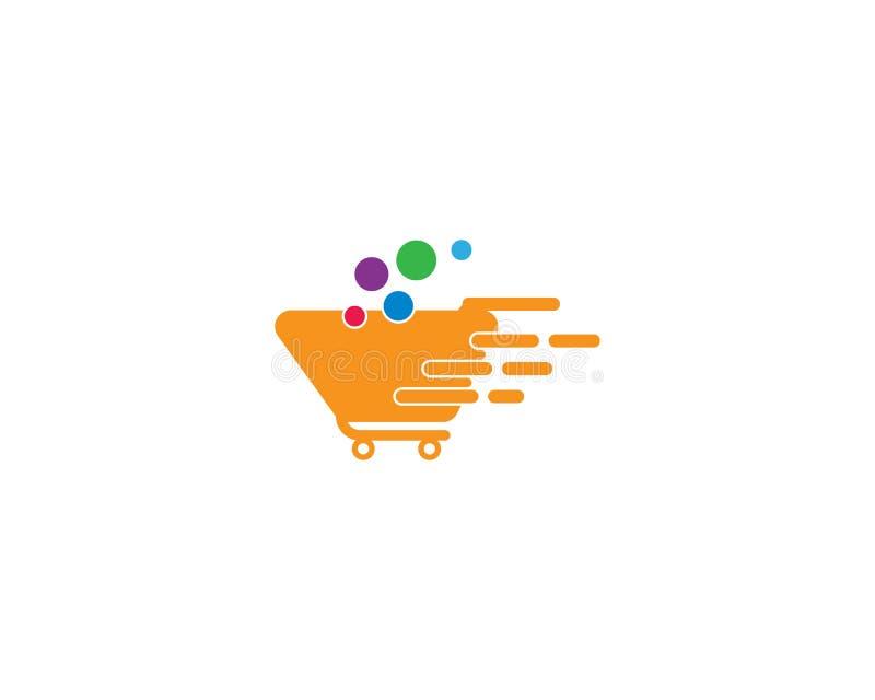 Calibre de logo de magasin illustration libre de droits