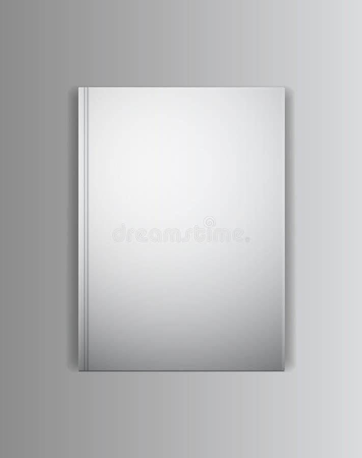 Calibre de maquette de livre de couverture de vecteur Préparez pour placer illustration de vecteur