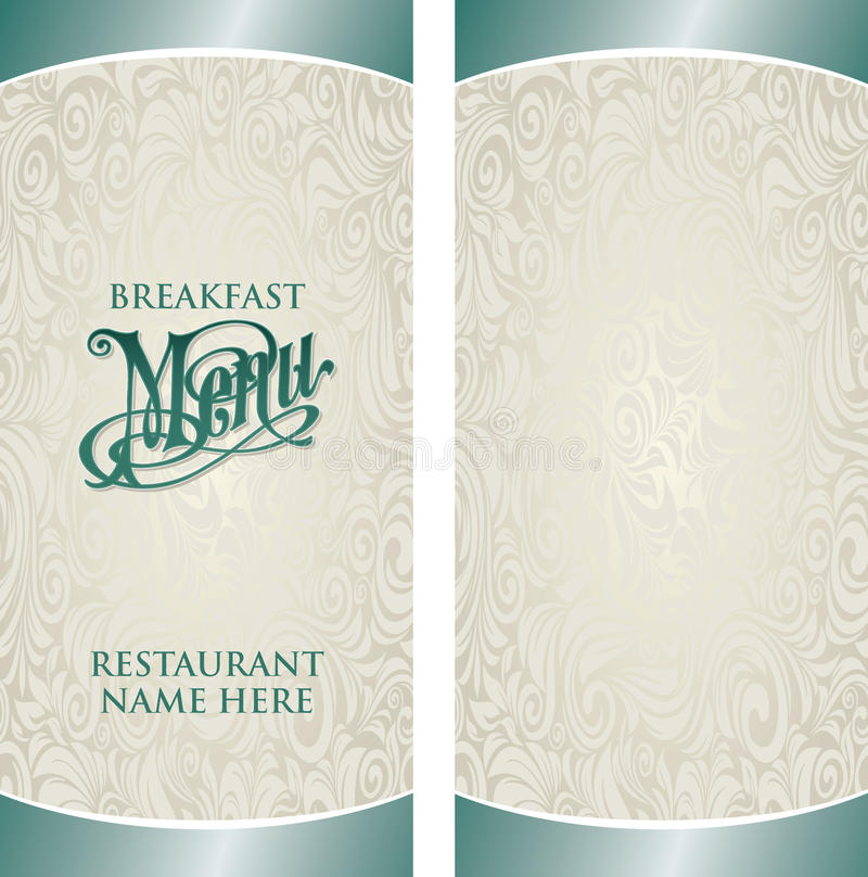 Calibre de menu illustration stock